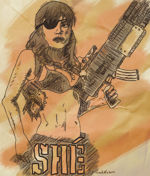'She' from Machete by miracledrug