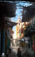Assassin's Creed IV: Black Flag_Havana alley by Donglu