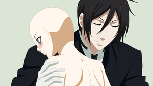 Black Butler- Sebastian Helping Oc Base by TFAfangirl14