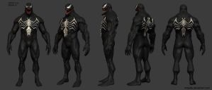 New venom w.i.p. by mojette