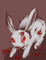 Killer rabbit of doom by AnnaGiladi
