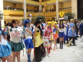 AWA 2010: Sailor Scouts by Chellendora