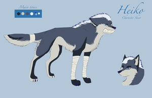 Heiko ref sheet by SophieReicher