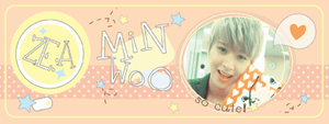Cutety Minwoo ZE:A Banner by zareos