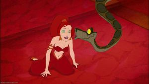 Slave Ariel And Kaa by SYFYNUT