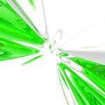 green abstraction by fanzi