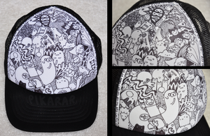 BBOY HAT by pikarar