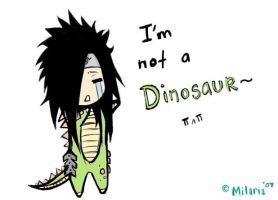 MADARA IS A DINOSAUR. by Milaria