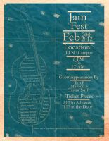 Jam Fest 2012 Double Bass by SeeMooreDesigns