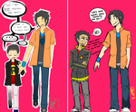 Batman: Dick and Damian [UPDATED] by nhiwi