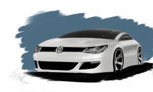 VW concept coupe by AuthoRph