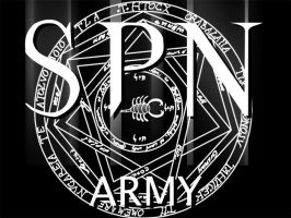 Supernatural Army Logo by otaku-jrock