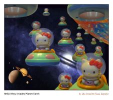 Hello Kitty Invades Earth pt2 by misterlawrie