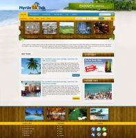 Myrtle Talk Website design by think360studio