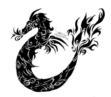 Tribal Serpent by Faustina13