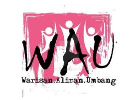 Group Logo : WAU - pink by dindaseh