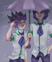 Rain Drops in Heartland + Speedpaint by MikomiKisomi