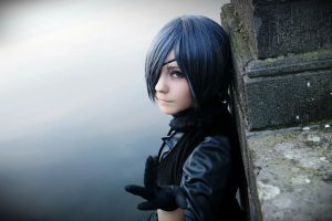 Ciel Phantomhive - Heaven Lake by GaaSuka
