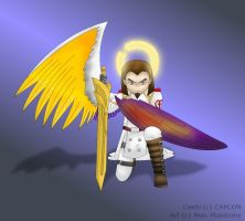 One Winged Angel by Miss-Phantomy