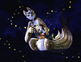 -DTA Entry- Fireflies by Adalgeuse