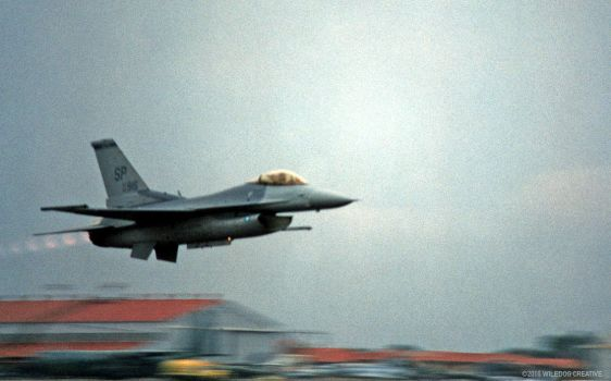 F16 Flyby by wiledog