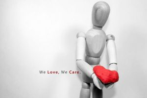 We Love - We Care by johnchan