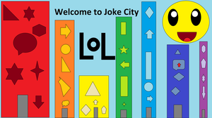 Welcome to Joke City by Flame-dragon