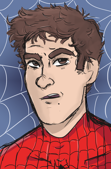 Peter Fucking Parker by DippinDot-Doodles