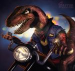 Mikey, the Raptor Biker Gang Leader by jasonwang7