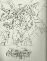 DZX: Shoutmon EX6 Superior Mode by BlueIke