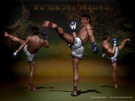 Buakaw kick-1 by edusimon