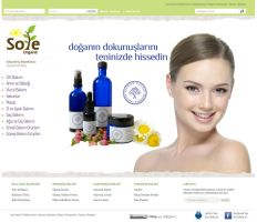 e commerce Sole Organic by yarabandi
