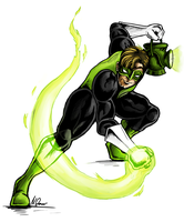 + Green Lantern + by catawump
