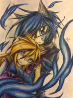 mell x zore by BooPoe