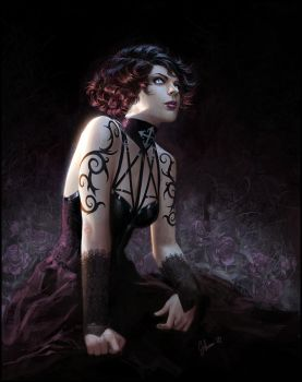 ebony-squirrel commission by janaschi