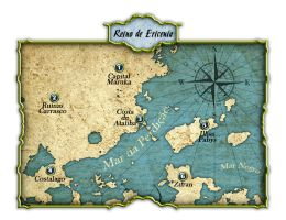 Ericenia Map by Lord-Ranefer