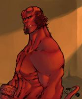 Hellboy by SkylineGT