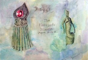 Flatwoods Monster by Spearhafoc