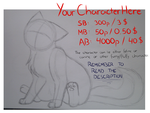 Your Character Here (nrml.styl) auction **Open** by FlareAKACuteFlareon