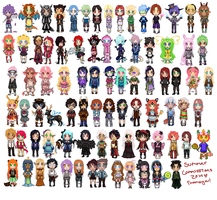 Summer Pixel Commission Compilation by KaetlynShae