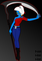 Scythes Are Fun by RanebowStitches
