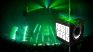 Hard Bass Cube (Wallpaper) by Hardii