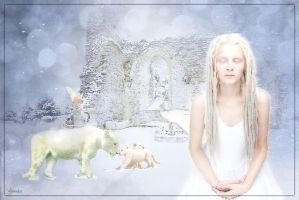 Magical White World by Wimmeke63
