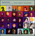 Face variety challenge by LeChantDuCorbeau