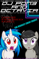 DJ Pon3 and Octavia Poster by SuperChargedBronie