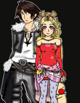 Terra and Squall by RosaChanInWonderland