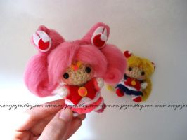 Sailor Mini Moon Amigurumi by AnyaZoe