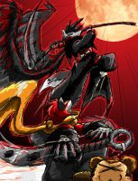 Death vs Hell: Deadly Duel by Inspectornills
