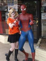 Harley and Spidey by CindTheSarkany