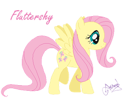 Fluttershy by Ameyal